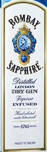 Bombay Gin Sapphire 94 Label