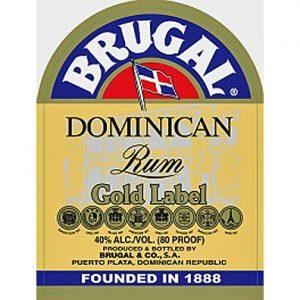 Brugal Gold Label Rum Adel Wines