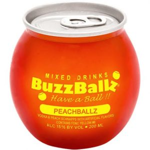 buzzballz peach balls adel