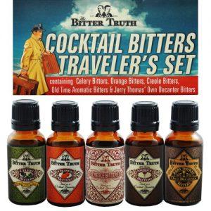 The Bitter Truth Cocktail Bitters Traveler's Set Adel