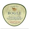 Bogle Vineyards Cabernet Sauvignon Label Adel