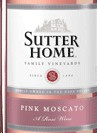 Sutter Home Pink Moscato Label Adel