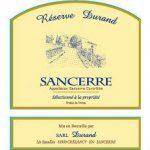 Durand Sancerre Reserve Label Adel