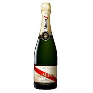 G. H. Mumm Champagne Brut Cordon Rouge Adel