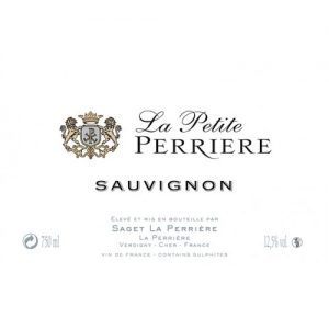 Saget La Petite Perriere Sauvignon Blanc Label Adel