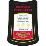 Martini & Rossi Vermouth Rosso Label Adel