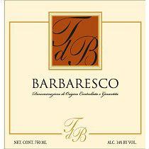 Terre del Barolo Barbaresco Label Adel
