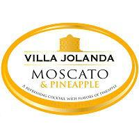 Villa Jolanda Moscato & Pineapple Label Adel