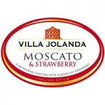 Villa Jolanda Moscato & Strawberry Label Adel