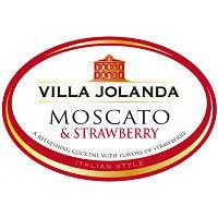 Villa Jolanda Moscato & Strawberry Label Adel