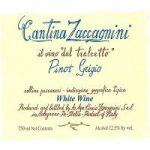 Zaccagnini Pinot Grigio Label Adel