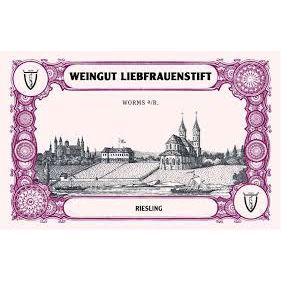Weingut Liebfrauenstift Riesling Dry 2013 Label Adel