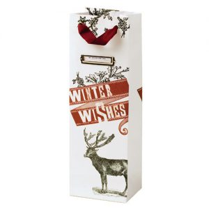 True winter wishes gift bag
