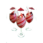 Almost Edible Candle STRAWBERRY DAQUIRIS