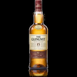 The Glenlivet Scotch Single Malt 15 Year French Oak Reserve