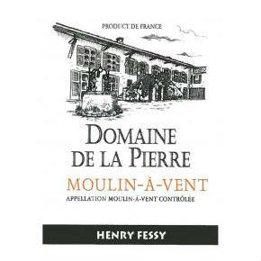 Domainede La Pierre Moulin-A-Vent Label