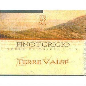 Cantina Frentana Terre Valse Pinot Grigio Label