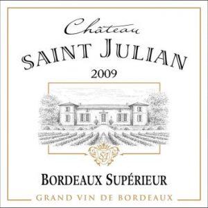 Chateau Saint Julien - Bordeaux Superieur Label