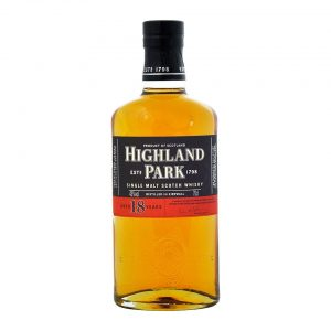 Highland Park 18 Year Old Whisky