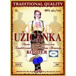 Uzicanka Plum Brandy Label