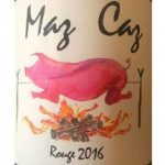 Maz cas rouge 2016 label