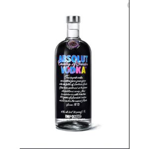 Absolut Andy Warhol Edition Bottle