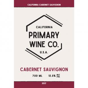 Primary Wine Co Cabernet Sauvignon Label