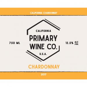 Primary Wine Co Chardonnay