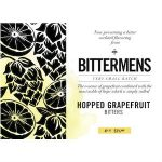 Bittermens Hopped Grapefruit Label