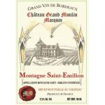 Chateau Grand Moulin Macquin 2015