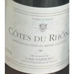 Louis dArmont Cotes du Rhone Label