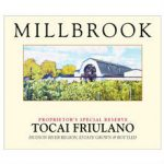 Millbrook Tocai Friulano Label