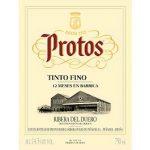 Protos Tinto Fino 12 Meses En Barrica Label