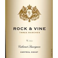 Rock Vine Three Ranches Cabernet Sauvignon Label