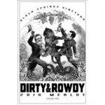 DIRTY & ROWDY ALDER SPRINGS MERLOT Label