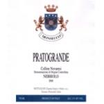 Monsecco Pratogrande Nebbiolo Colline Novaresi Label