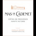 Mas de Cadenet Rosé Saint Victoire Label