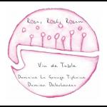 Domaine La Grange Tiphaine 'Rosa, Rose Label