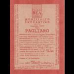 Paolo Bea Pagliaro Secco Label