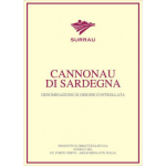 Surrau Cannonau di Sardegna Label