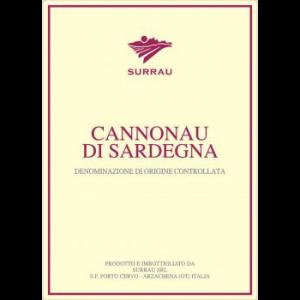 Surrau Cannonau di Sardegna Label