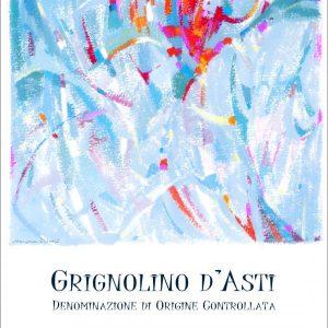 Agostino Pavia & Figli Grignolino D'Asti Label
