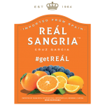 Cruz Garcia Real Sangria Label