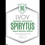 Lvov Spirytus Label