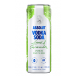 Absolute Vodka Soda Lime Cucumber