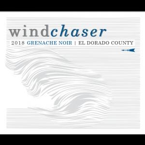 Windchaser Wine Co Grenache Label