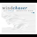 Windchaser Wine Co Syrah Label