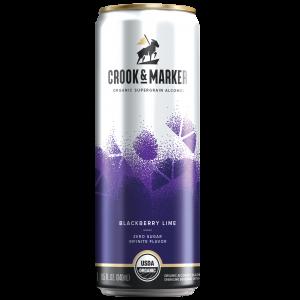 Crook and Maker Blackberry Lime Hard Seltzer