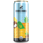 Crook and Maker Coconut Pineapple Hard Seltzer