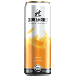 Crook and Maker Mango Hard Seltzer